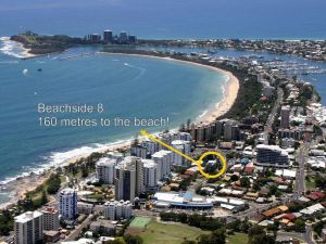 Beachside 2 - 3 BDRM Budget Apt Close to Beach Mooloolaba